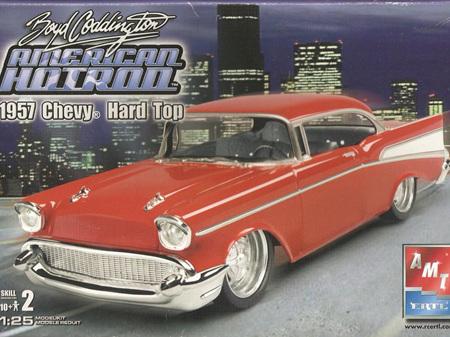 AMT 1/25 Boyd Coddington 1957 Chevy Hard Top