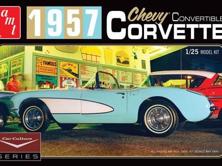 AMT 1/25 Car Culture 1957 Corvette Convertible