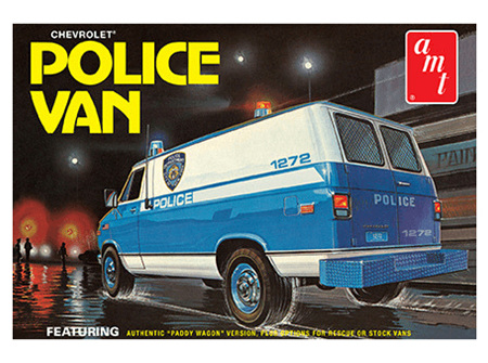 AMT 1/25 Chevy Police Van (NYPD)