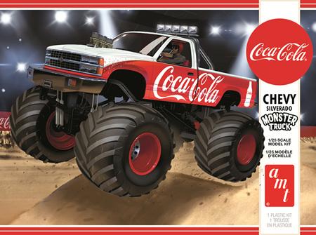 AMT 1/25 Chevy Silverado Monster Truck (Coca-Cola) (AMT1184)