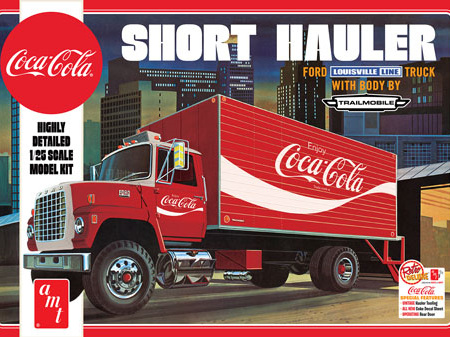 AMT 1/25 Coca-Cola 1970 Ford Louisville Short Hauler