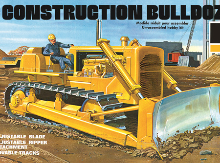 AMT 1/25 Construction Bulldozer (AMT1086)