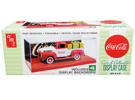 AMT 1/25 Display Case (Coca-Cola) (AMT1199)