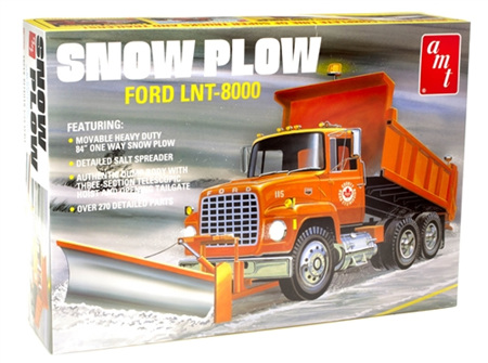 AMT 1/25 Ford LNT-8000 Snow Plow (AMT1178)