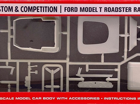 AMT 1/25 Ford Model T Roadster Racing Body (AMT9)