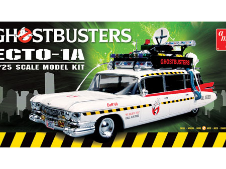 AMT 1/25 Ghostbusters Ecto-1A