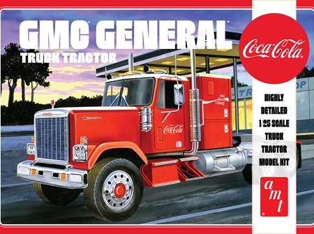 AMT 1/25 GMC General Truck Tractor (Coca-Cola) (AMT1179)