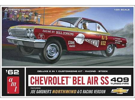AMT 1/25 Joe Gardner's Northwind 62 Chevy Bel Air SS 409 (AMT865)
