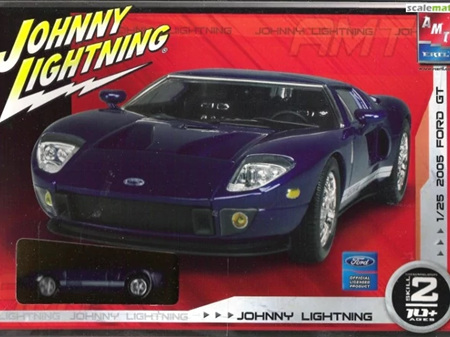 AMT 1/25 Johnny Lightning 2005 Ford GT (AMT38460)