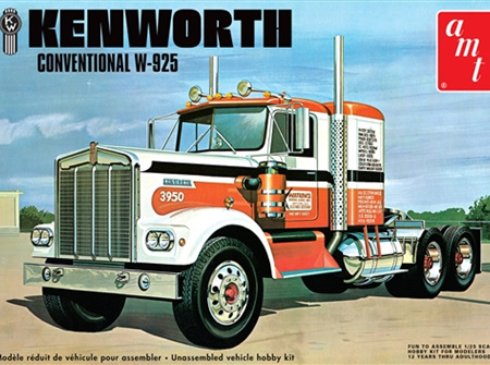 AMT 1/25 Kenworth W-925 Conventional (AMT1021)