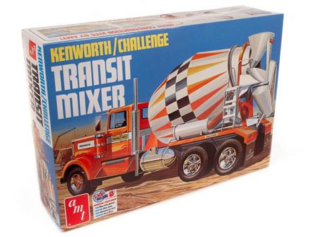 AMT 1/25 Kenworth/Challenge Transit Mixer (AMT1215)