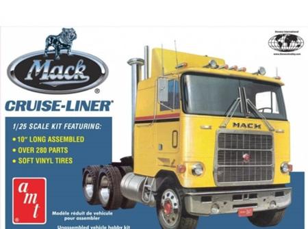 AMT 1/25 Mack Cruise-Liner Semi Tractor