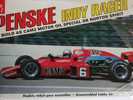 AMT 1/25 Penske Indy Racer
