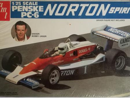 AMT 1/25 Penske PC-6 Norton Spirit (Bobby Unser)