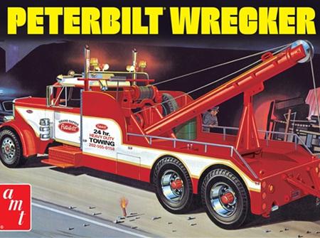 AMT 1/25 Peterbilt 359 Wrecker (AMT1133)