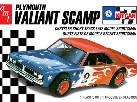 AMT 1/25 Plymouth Valiant Scamp Dirt Car