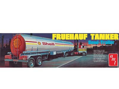AMT 1/25 Shell Tanker Trailer