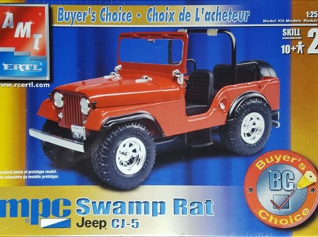 AMT 1:25 Swamp Rat Jeep CJ-5 (AMT38088)