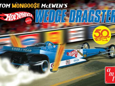 "AMT 1/25 Tom ""Mongoose"" McEwen Fantasy Wedge Dragster (Hot Wheels)"
