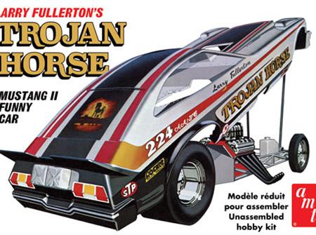 AMT 1/25 Trojan Horse 1975 Mustang Funny Car (Larry Fullerton)