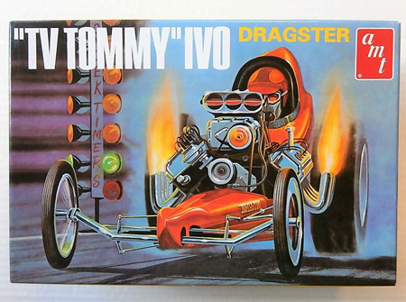 "AMT 1/25 ""TV Tommy"" Ivo Dragster (AMT621)"