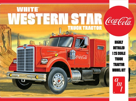 AMT 1/25 White Western Star (Coca-Cola) (AMT1160)