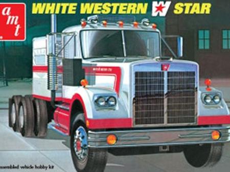 AMT 1/25 White Western Star Semi Tractor