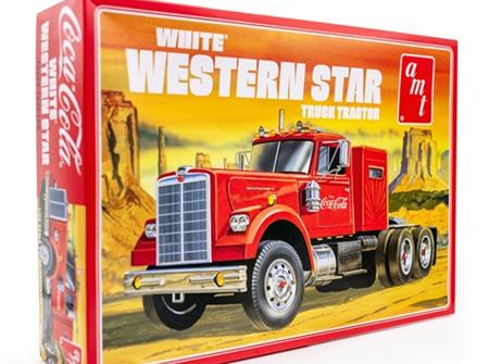 AMT 1/25 White Western Star Semi Tractor (Coca Cola) (AMT1160)