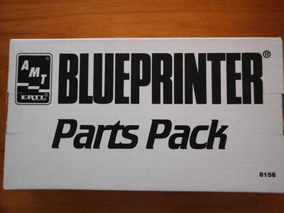 AMT Blueprinter 1/25 Parts Pack