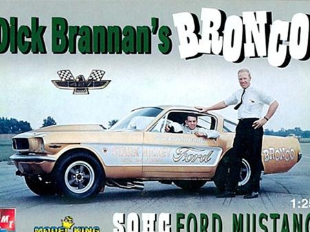 AMT/Model King 1/25 Dick Brannan's Bronco SOHC Mustang