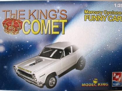 AMT (Model King) 1/25 'The Kings Comet' Mercury Cyclone Funny Car