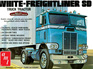 AMT 1/25 White Freightliner Single-Drive Tractor Cab