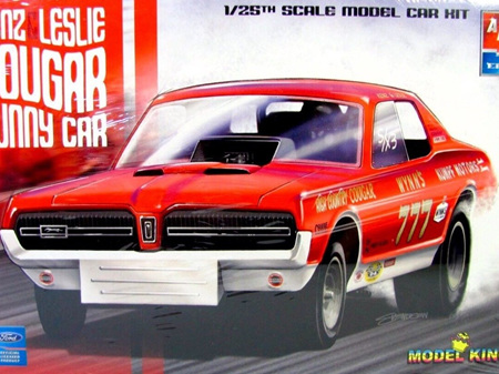 AMT/Model King 1/25 1968 Mercury Cougar 'Kenz & Leslie' Funny Car