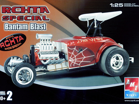 AMT/Model King 1/25 RCHTA Special Bantam Blast Black Widow