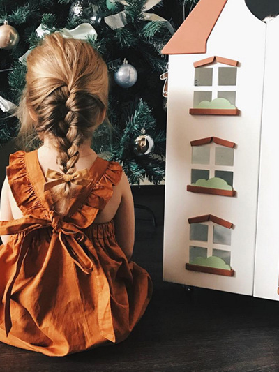 Amuhou Bronze Dress