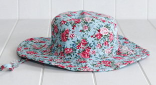 AMY BUCKET HAT FLORAL