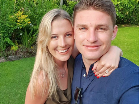An All Black Proposal: Beauden Barrett and Hannah Laity Engagement Ring Story