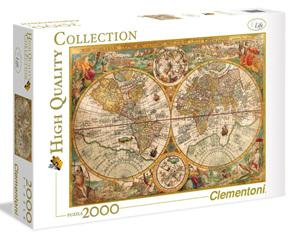 Clementoni 2000 Piece Jigsaw Puzzle:  Ancient Map