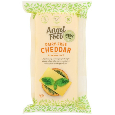 Angel Food Cheddar Alternative 300g