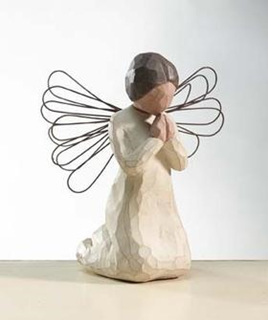Angel of Prayer - Willow Tree