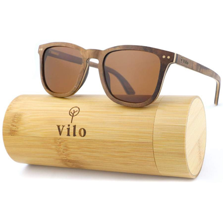 Angelou Wooden Sunglasses