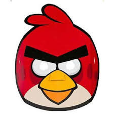 Angry Birds masks Pack of 8