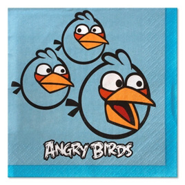 Angry Birds Party Napkins - pack of 16