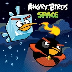 Angry Birds Space - Beverage Napkins