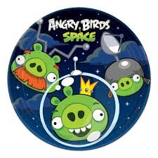 Angry Birds Space small Plate