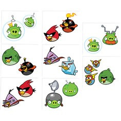 Angry Birds Space - tattoos