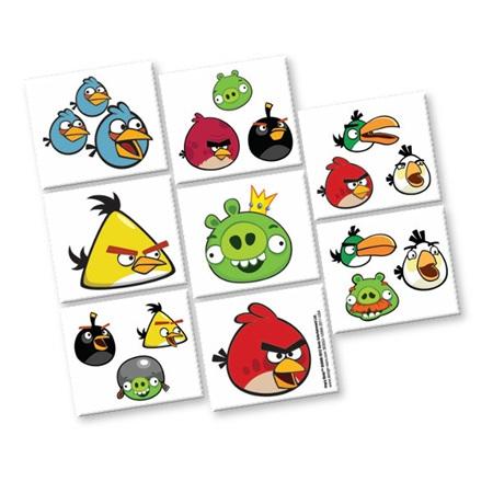 Angry Birds Tattoo's