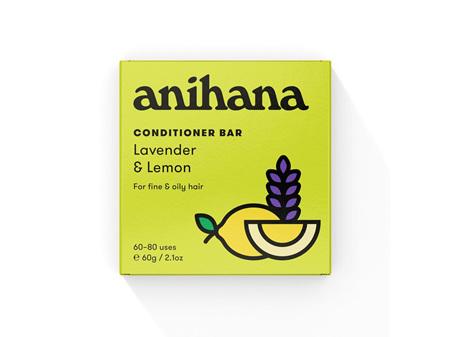 anihana Conditioner Bar Lavender & Lemon 60g