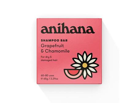 anihana Shampoo Bar Grapefruit & Chamomile 65g