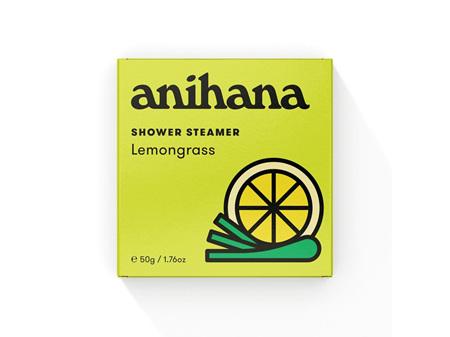 anihana Shower Steamer Lemongrass 50g